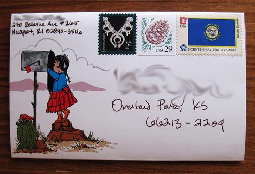 desert postalette - mailbox goodness!