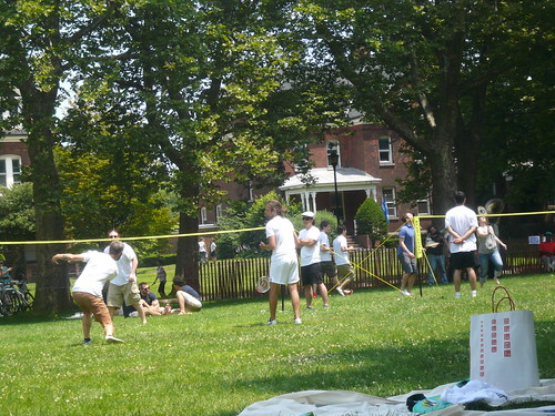 Governors Island Badminton Tourney