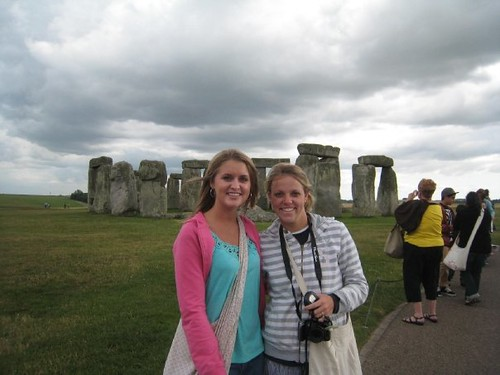 Hannah and Me at Stonehenge