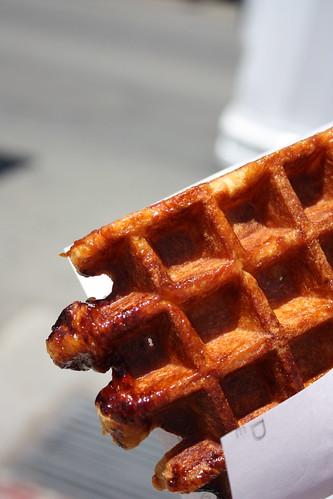Freshly Baked Waffle To Go