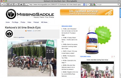 Short article on Breck-Epic