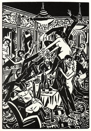 Graphic Novel illustration by Frans Masereel a