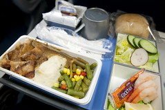 Airline Meal, Northwest Airlines