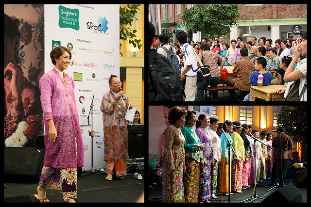 Singapore Food Festival with a Peranakan theme