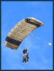 Parachute over Bells Beach-1 (Sheba_Also 11.7 Millon Views) Tags: beach bells parachute clontarf tandum