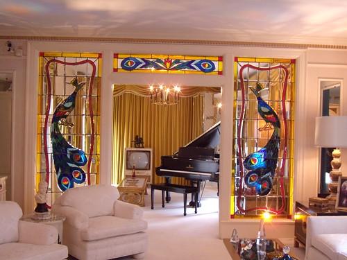 Front room at Graceland