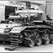 Destroyed Israeli tanks in Suez