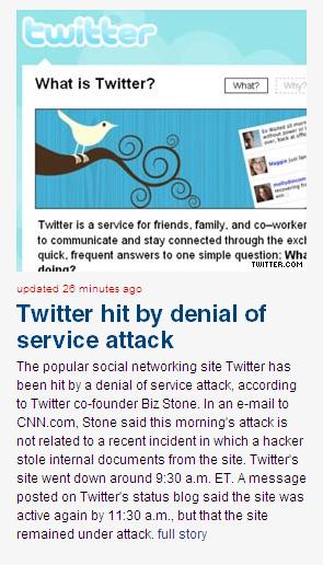 Twitter Story on CNN 2.