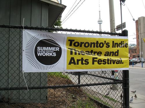 2009 SummerWorks Banner