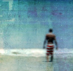Back to Blue (Michelle Brea) Tags: blue sea art texture beach photography moments artistic explore capture frontpage feelings michellebrea lesbrumes photodistorzija4