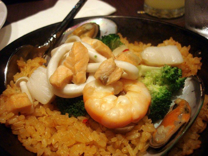 Tom yam Seafood Paella