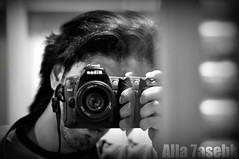 بسمعك حبكه فكره وتصوير . وآفهم عدل يامدعي بالفهآمه (★Ᾰΐΐα-7αseβκ) Tags: bw white black me photography nikon mm 50 alla d90 7asebk