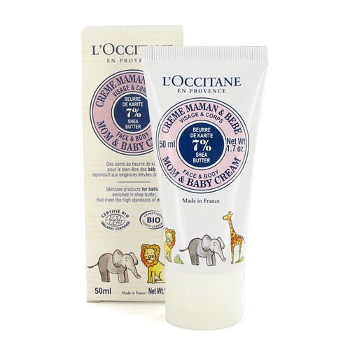 Cremas para mamás y bebés L'Occitane
