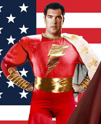 Speaking Of Captain Marvel Put Me In The Camp That Would Like To See Patrick Warburton As Shazam Man Himself Hes Got Perfect Look And Has