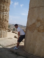 Me: Temple of Heracles (Christian Rodrigues) Tags: sicily agrigento ribera greektemple sciacca eracleaminoa