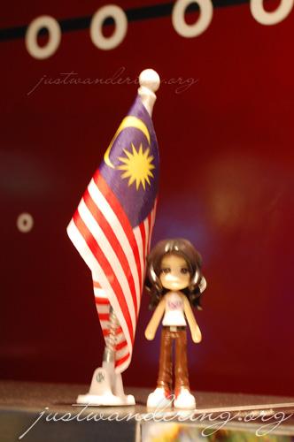 Sayuri back in Malaysia