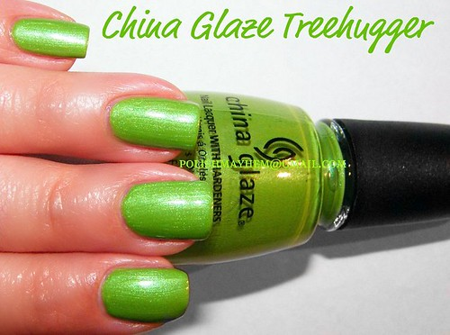 China Glaze Treehugger
