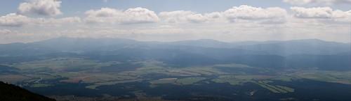 Widok spod Soliska - Panorama