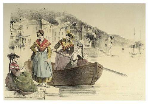015-Trajes vascos barqueras de Pasaia 1850- Copyright 2009 álbum SIGLO XIX. Diputación Foral de Gipuzkoa