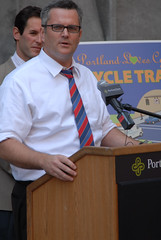 Broadway cycle track unveiling event-2