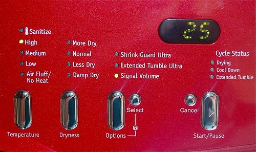 Frigidaire Affinity washer & dryer