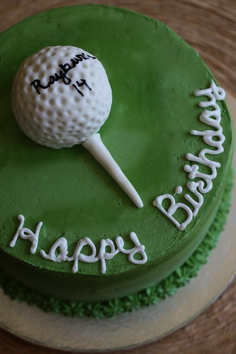 Bakers Cakes Golf Cake