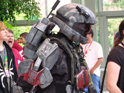 Halo Costume Inspires Fear