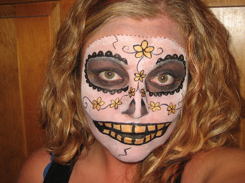 Sugar Skull - Day of the Dead by Body Art By Erin