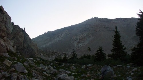 First Glimpse of Mt. Columbia (14,073 ft)
