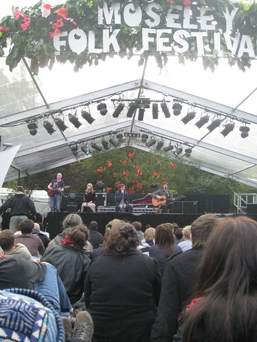 Drever, McCusker & Woomble at Moseley Folk Festival