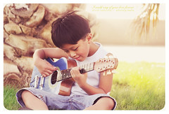 i could sing of your love forever (alvin lamucho ©) Tags: light boy music sunlight grass seaside kid high key child guitar song son palmtree sing jed kuwait dates kuwaitcity sharq playguitar canon450d rebelxsi alvinlamucho