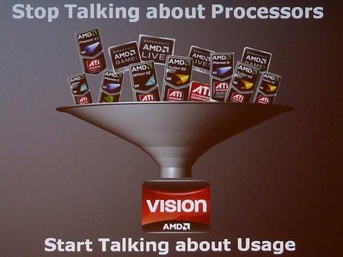 AMD VISION usage