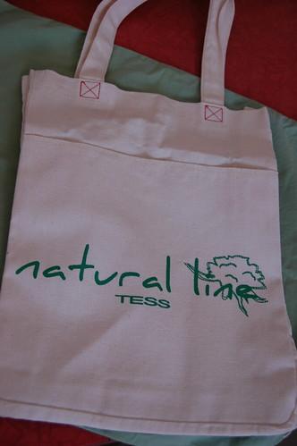 Ecobag brinde Tess ( loja de roupas femininas )
