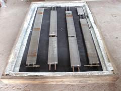 Positionnement des tuyaux de cuivre