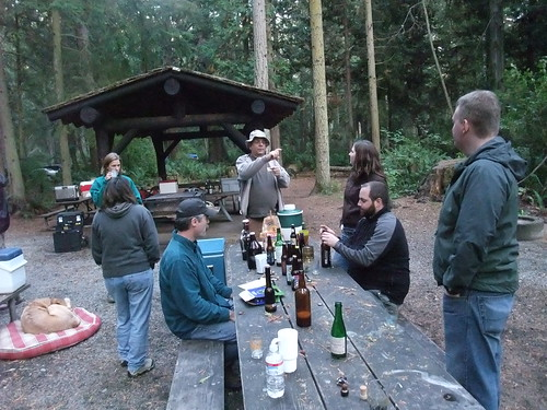 Some of the crew from the Beer Geek Campout