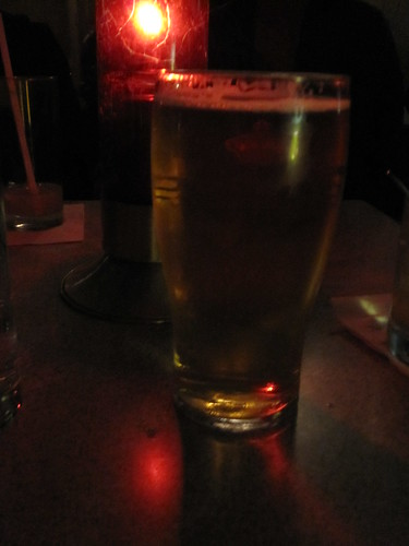 Pint of Carlsberg at Plan B - $7.25 with tip