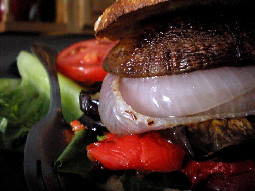 Portobello Burger - We're Not Much More Than Anything..