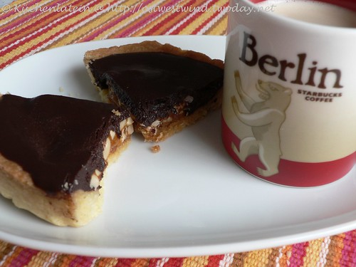 ©Chocolate-Crunched Caramel Tart