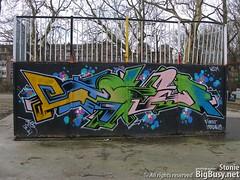 Graffiti - Amsterdam (StonieB) Tags: streetart holland netherlands amsterdam graffiti murals writers spraypaint walls graff aerosol bombing westerpark spraycanart wallwriting wildstyle laser314 frederikhendrikplantsoen