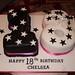 b/w 18 cake