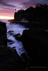 Dawn Delight (view large) (mick walters/Billy) Tags: longexposure seascape sunrise landscape australia tasmania eaglehawkneck tasmanpeninsular