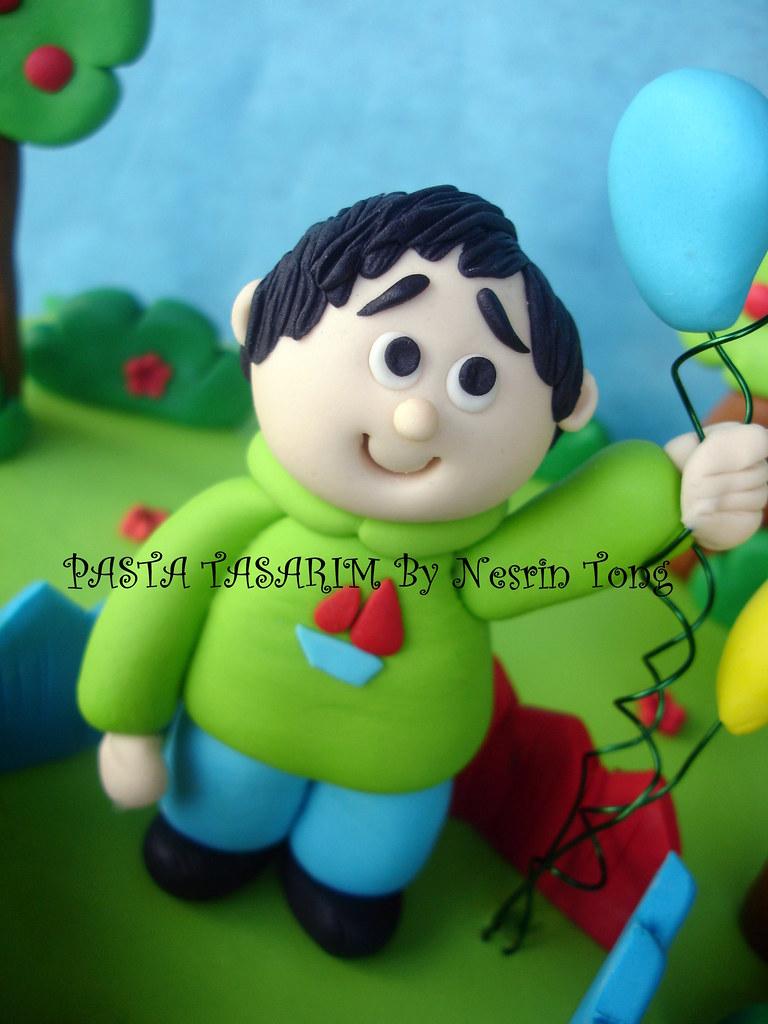 URAS 1ST BIRTHDAY CAKE