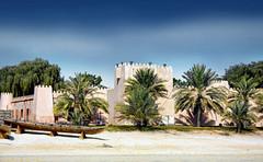 Heritage Village, Abu Dhabi (sminky_pinky100 (In and Out)) Tags: travel sky tourism boat sand fort uae abudhabi historical colourful heritagevillage bej abigfave omot eyejewel