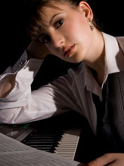The Composer (Lloyd K. Barnes Photography) Tags: portrait music studio emily mua melissaberg