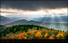 Autumn Radiance - Blue Ridge Parkway Foliage (Dave Allen Photography) Tags: mountains fall foliage autumn colorful trees nature landscape daveallen nikon d300 1735mm rays beams sunrays sunbeams light lighting natural blueridgeparkway daveallenphotography hendersonville wnc westernnorthcarolina nikond300 outdoors northcarolina blueridgemountains ashevillenc asheville absolutelystunningscapes beautiful beauty carolina clouds fallfoliage gorgeous leafchange leaves nc naturesfinest seasons sky vibrant platinumheartaward aplusphoto superaplus platinumpeaceaward blue ridge parkway sun ridges layers mygearandme mygearandmepremium raysoflight lightrays lightbeams beamsoflight autumnlandscape falllandscape hendersonvillephotographer mygearandmebronze mygearandmesilver mygearandmegold mygearandmeplatinum mygearandmediamond