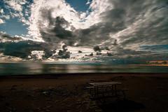 K20D3476 (Bob West) Tags: longexposure nightphotography night clouds lakeerie greatlakes moonlight nightshots rondeauprovincialpark southwestontario bobwest k20d