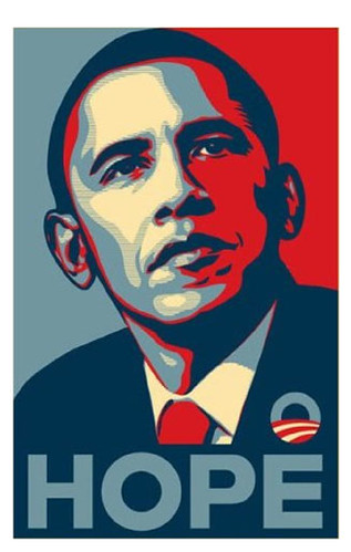 The Celebrated Obama HOPE Poster by Shepard Fairey