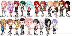 My Pullip family!!! (miss_skittlekitty) Tags: dollmaker pixeldolls pullipfamily noaschneecom