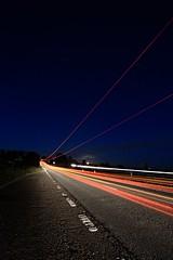 (nzbuu) Tags: road longexposure cars stream traffic gimp headlights lorry nighttime lighttrails hertfordshire taillights baldock canonefs1022mmf3545usm ufraw a505 canoneos450d