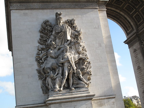 Detail from Arc de Triomphe